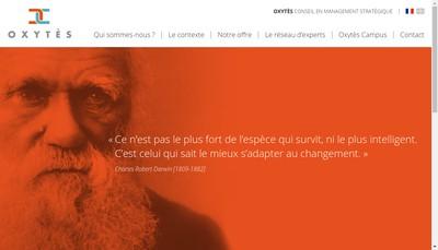 Site internet de Oxytes
