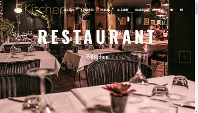 Site internet de Pascal' S Kitchen