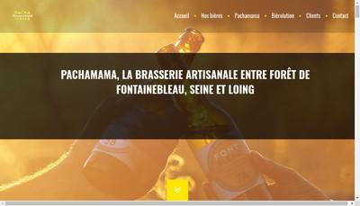 Site internet de Brasserie Artisanale Pachamama