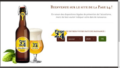 Site internet de Brasserie Saint-Germain
