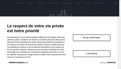 Site internet de PDLV