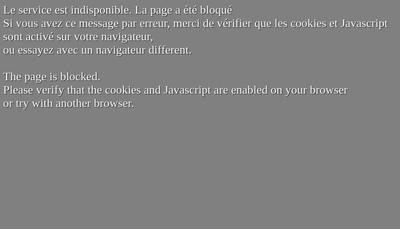 Site internet de Palais Immobilier