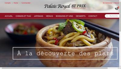 Site internet de Palais Royal Saint Prix