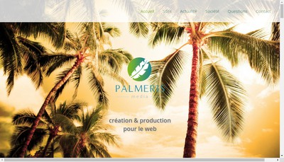 Site internet de Palmeris