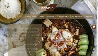 Site internet de Panasia Ii