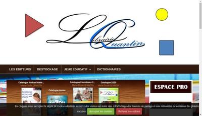 Site internet de Librairie du Belvedere