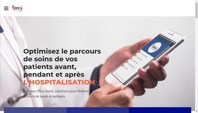 Site internet de Parcours Plus Sante