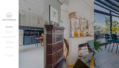 Site internet de pariscabane