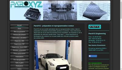 Site internet de Paroxyz