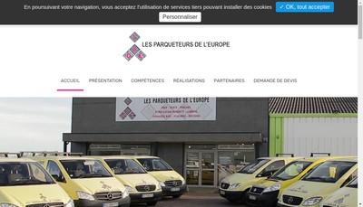 Site internet de Les Parqueteurs de l'Europe