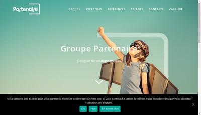 Site internet de Groupe Partenaire