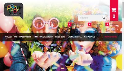 Site internet de Partypro