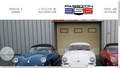 Site internet de Passion 356