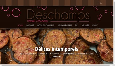 Site internet de SARL Deschamps