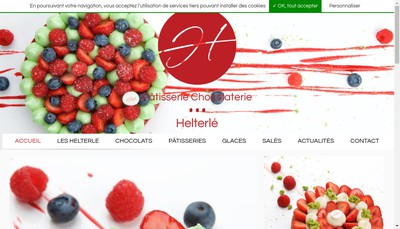 Site internet de Patisserie Chocolaterie Helterle