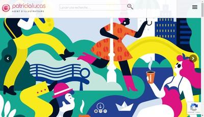 Site internet de Agence Patricia Lucas