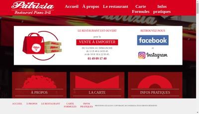 Site internet de Patrizia