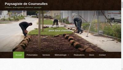 Site internet de De Courseulles