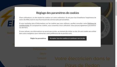 Site internet de Bocher Leroy