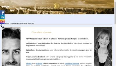 Site internet de Vincent Mazet