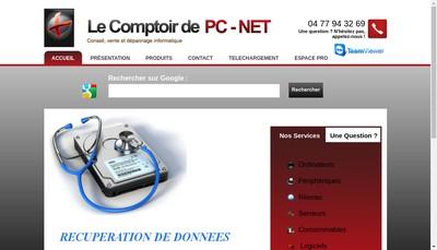 Site internet de Le Comptoir de Pc Net