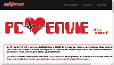 Site internet de Pc Envie