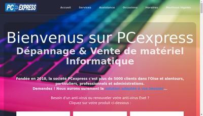 Site internet de Pcexpress