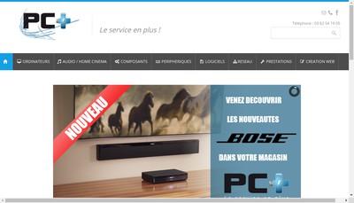Site internet de Pc Plus