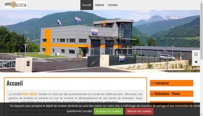 Site internet de Pdg Tech'