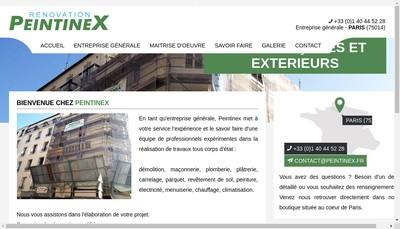 Site internet de Peintinex