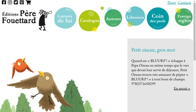 Site internet de Editions Pere Fouettard
