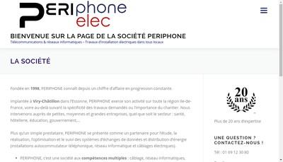 Site internet de Perielec