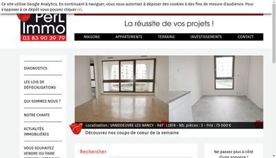 Site internet de Perlimmo