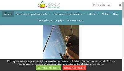 Site internet de Pevele Proprete