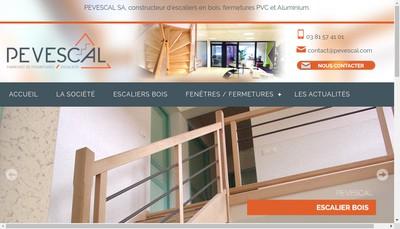 Site internet de Pevescal