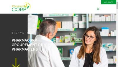 Site internet de Pharmacorp