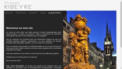 Site internet de Philippe Ribeyre