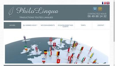 Site internet de Philolingua