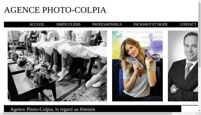 Site internet de Agence Photo-Colpia