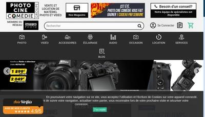 Site internet de Shop Photo