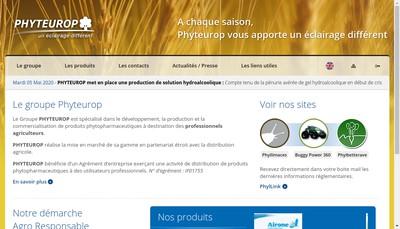 Site internet de Phyteurop