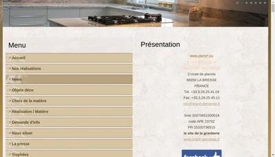 Site internet de Pierre 2