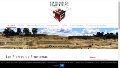 Site internet de Les Pierres de Frontenac
