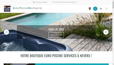 Site internet de EPB 58