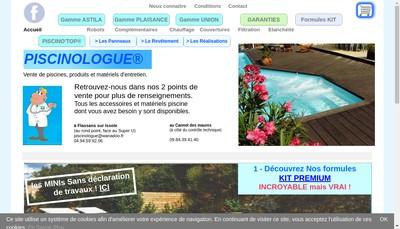 Site internet de Piscinologue