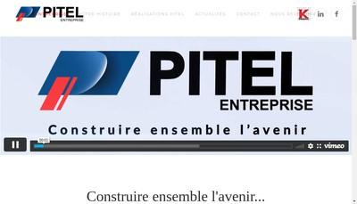 Site internet de Entreprise Pitel