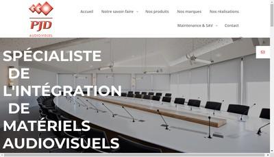 Site internet de Pjd Audiovisuel Meeting Work