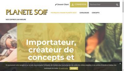 Site internet de Planete Soif