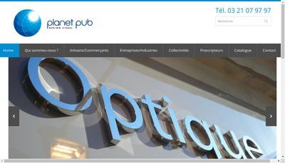 Site internet de Planet Pub