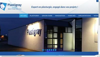 Site internet de Plastigray
